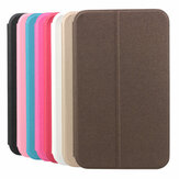 Folio Scrub PU Leather Case Cover For Samsung T310 Tablet