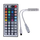 44 Key Mini IR Afstandsbedieningsregeling voor 3528 5050 RGB LED Strip Light