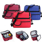 Handige Picnic Lunch Bag Cooler Bag Ice Bag Lunch Box Assorted Kleuren Beschikbaar