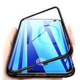 BakeeyAdsorçãoMagnéticaDeAlumínioDe Vidro Temperado Protetor Caso para Samsung Galaxy S10e / S10 / S10 Plus / S10 5G