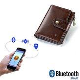 Men RFID Genuine Leather Short Multi-function Wallet