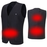 Electric USB Power Supply Warm Heated Vest Intelligent Heating Jacket Racing Coat Best For Winter
