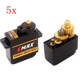 5PCS EMAX ES08MA II 12g Mini Metal Gear Analog Servo for RC Model