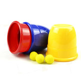 Funny Trick Props Drie Magic Cups Speelgoed voor Kids Children Gift
