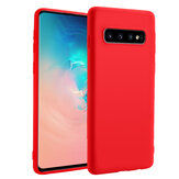 Bakeey Liquid Silicone Custodia protettiva in gomma per Samsung Galaxy S10e / S10 / S10 Plus Anti Fingerprint Soft Cover posteriore