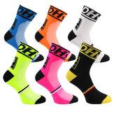 DH Sports Mens Damen Radfahren Kissen Crew Socke