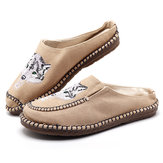 Slip On Mocassini da uomo casual in canvas traspirante