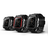 KALOAD 38/42mm Width TPU iWatch Replacement Strap Band Shock-proof Protective Case For Apple Watch 1/2/3