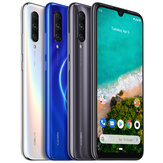 Xiaomi Mi A3 Global Version 6.088 polegada AMOLED 48MP Câmera Traseira Traseira 4 GB 64GB Snapdragon 665 Octa core 4G Smartphone