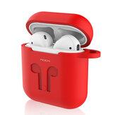 Rock Housse de protection en silicone anti-choc pour AirPods Apple Bluetooth écouteur