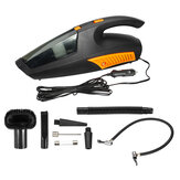 Car Vaccum Cleaner 12V CORDLESS Auto Portable Wet Dry with Wired Tire Pressure