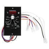 La placa termostática del controlador de temperatura digital de 120 V se adapta a TRAEGER todos los modelos BAC23