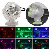 1W LED Colorful Submersible  Fish Tank Light  Waterproof Decoration Light