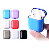 Dustproof Shockproof Hard PC Earphone Protective Case For Apple AirPods