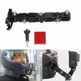 Adhesive Full Face Helmet Front Chin Mount Do Sjcam / Antshares / Gopro Hero 6 5 4 3 Action Camera
