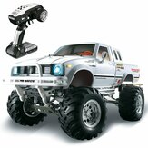 HG P407 1/10 2.4G 4WD Rally Rc Auto voor TOYATO Metalen 4X4 Pick-up Truck Rock Crawler RTR Speelgoed