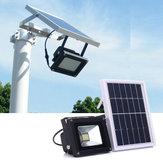 ソーラーパワー12 LED光センサー洪水ランプ屋外ガーデン防水セキュリティ
