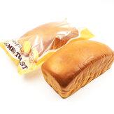 Squishyfun Jumbo Toast Pane Spugnoso 20cm Alzata Lenta Confezione Originale Collezione Regalo Decorazione Giocattolo