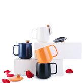 XIAOMI ZHIZAO 500CC Enamel Mug Four Seasons Version Coffee Milk Tea Mug Home Office Breakfast Cup