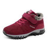 Women's Plush Warm Shoes Comfy Snow Boots