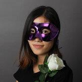 Masquerade Maske Yaldızlı maskeler Cadılar Bayramı Karnavalı Partisi Maske