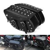 دراجة نارية بو الجلود حقيبة Saddlebags الجانب ل Harley Sportster 1200XL 883