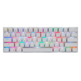 Motospeed CK62 Bluetooth USB verdrahtete Dual-Mode Outemu Switch RGB mechanische Gaming-Tastatur