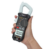 MUSTOOL X2 Pocket 6000 conta True RMS Clamp Meter Tensione AC e corrente digitale Multimetri Misuratore digitale automatico con uscita a onda quadra Ω / V / A / Diodo / Frequenza / Test di continuità