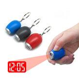 VST CL-001 Электронные мини-портативные цифровые светодиодные проекционные часы с брелками для подарка дня рождения детей