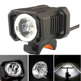 XANES XL17 950LM L2 LED 5 Modes DC Charging Interface IPX6 Waterproof Bike Light