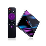H96 MAX RK3318 2GB RAM 16GB ПЗУ 5G WIFI bluetooth 4.0 Android 9.0 4K VP9 H.265 TV Коробка