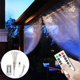 DC5V USB DIY Firework Starburst 120 LED Sliver Fairy String Light Remote Control Christmas Decor