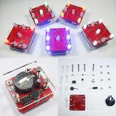 Geekcreit® DIY Shaking LED Dice Kit Met Kleine Trillingsmotor