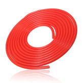 4mm 5 Meter Silicone Vacuum Hose Tube Tubing Line Pipe 16.4 Feet Red