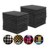 6Pcs 12Pcs 24Pcs Acústico Soundproof Sound Stop Absorption para KTV Audio Room