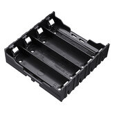 4 Slots 18650 Battery Holder Plastic Case Storage Box for 4*3.7V 18650 Lithium Battery with 8Pin