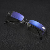 Half Metal Rim Multi Focus Progressive Reading Glasses