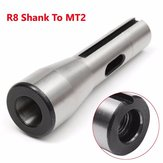 R8 Shank To MT2 R8 Drill Chuck Arbor Morse Taper Adapter Sleeve
