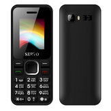 SERVO V8210 1.77 Inch 1500mAh bluetooth GPRS Vibration FM Radio Dual SIM Card Feature Phone