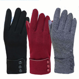 Women Unisex Warm Touch Screen Fleece Gloves No-Slip Cycling Outdoor Windproof Ski Gloves