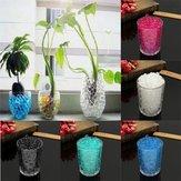 Perlas de cristal del suelo de barro flor de perlas de gel de la planta de agua de la jalea decoración de boda de la bola