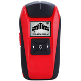 G120 Multifuncional Handheld LCD Detector de metais de parede Stud Finder Wood Studs AC Cable Live Fio Scanner Tester
