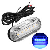 12V Marine Yacht Boat High Intensity Waterproof LED Underwater Light Blue