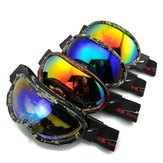 Electroplating Anti Fog Ski Goggles Fitted With Glasses Windproof Waterproof Climbing Goggles