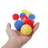 10 SZTUK Blue Close Up Magic Street Trick Soft Gąbka Ball 45mm Magic Props Clown Nose