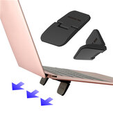 WK Design 2PS multifunctionele antislip opvouwbare desktop Stand Holder voor telefoon tablet-laptop