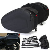 36-58L Motorcycle Motor Bike Saddlebags  Soft Saddle Bag Side Seat Luggage