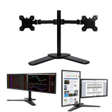 Dual LCD Monitor Holder Monitor Bracket Desk Stand for 10