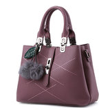 Women Quality PU Leather Functional Handbag