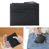 90 Fun Cowhide Leather Wallet 6 Slots Card Holder Coin Change Purse Pocket Bag Outdoor Travel from xiaomi youpin